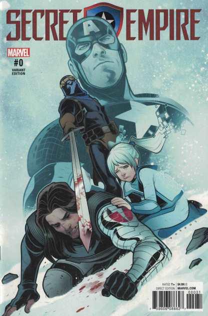 Secret Empire #0 Elizabeth Torque Variant Marvel 2017