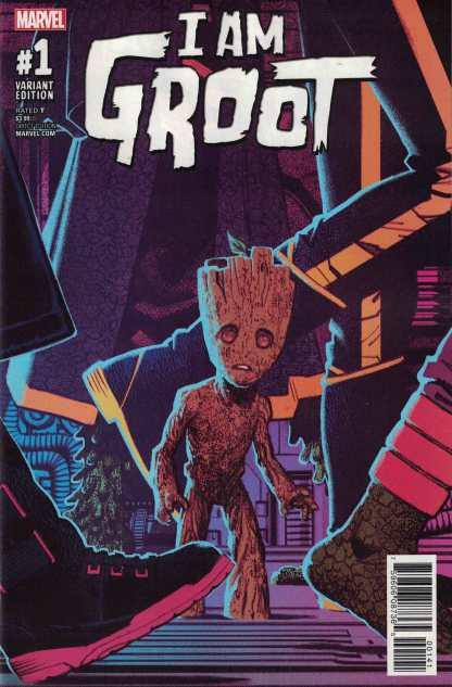 I Am Groot #1 1:50 Greg Smallwood Variant Marvel 2017