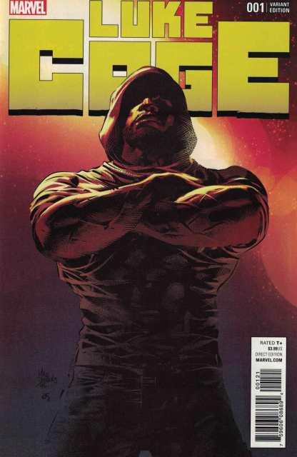 Luke Cage #1 1:50 Mike Deodato Variant Marvel 2017