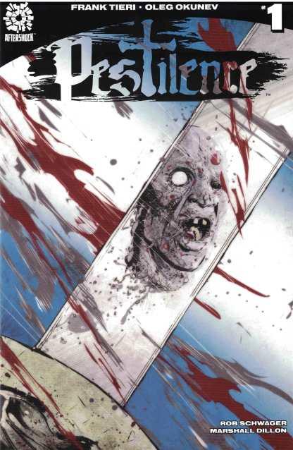 Pestilence #1 1:10 Szymon Kudranski Variant Aftershock 2017