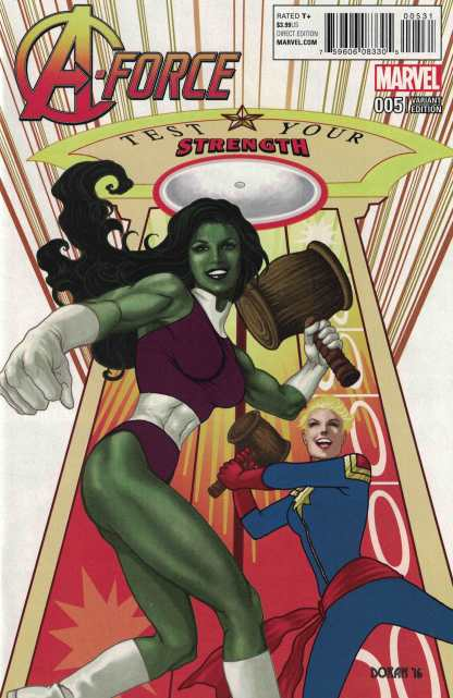 A-Force #5 1:15 Colleen Doran Classic Variant Marvel ANAD 2016