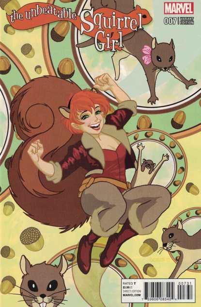 Unbeatable Squirrel Girl #7 1:15 Colleen Doran Classic Variant Marvel ANAD