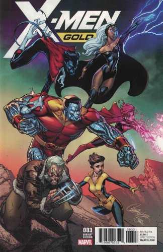 X-Men Gold #3 1:25 J Scott Campbell Variant Marvel 2017
