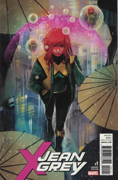 Jean Grey #1 1:50 Stephanie Hans Variant Marvel 2017 X-Men