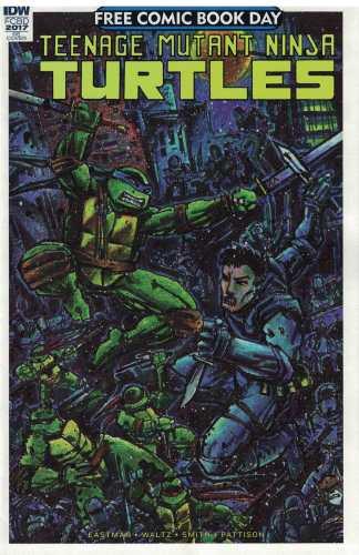 FCBD Teenage Mutant Ninja Turtles NON-Stickered Ultimate Comics Exclusive 2017