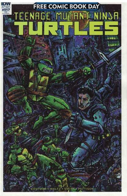 FCBD Teenage Mutant Ninja Turtles Stickered Ultimate Comics Exclusive IDW 2017