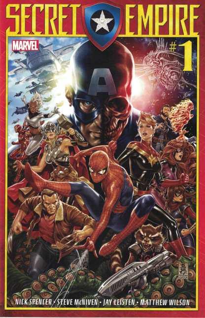 Secret Empire #1 Mark Brooks Marvel 2017