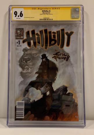 Hillbilly #1 GCG 9.6 Signature Series Eric Powell 1st Print Goon Albatross 2016