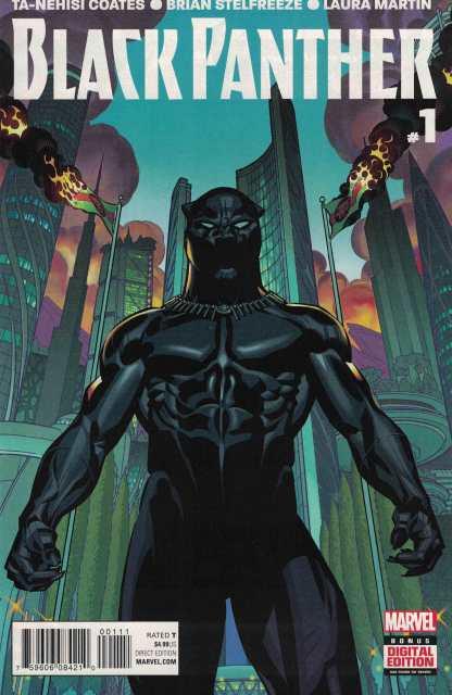 Black Panther #1 First Print 1st Marvel 2016 Ta-Nehisi Coats Brian Stelfreeze
