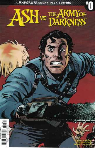 Ash vs The Army of Darkness #0 1:10 Reilly Brown Cover B Dynamite 2017