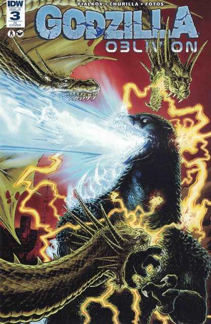 Godzilla Oblivion #3 1:10 Retailer Incentive Variant RI IDW 2016