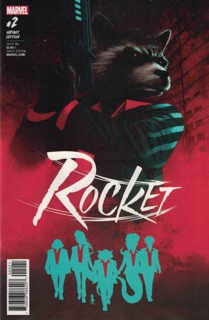 Rocket #2 1:25 Steve Epting Variant Marvel 2017