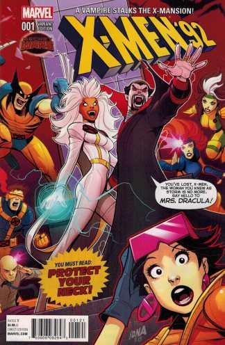 X-Men 92 #1 1:25 Nakayama Variant Marvel Secret Wars 2015