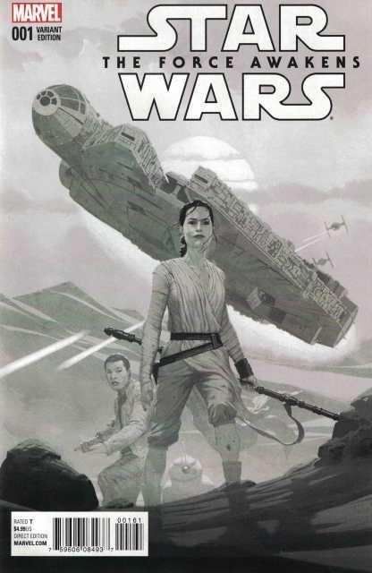 Star Wars Force Awakens Adaptaion #1 1:75 Esad Ribic Variant Marvel 2016