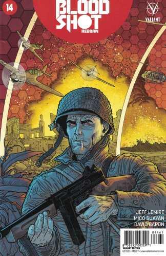 Bloodshot Reborn #14 1:10 Interlocking Variant Cover F Valiant 2015