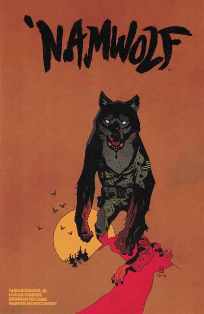 Namwolf #2 Special Mike Mignola Variant Cover Albatross 2017