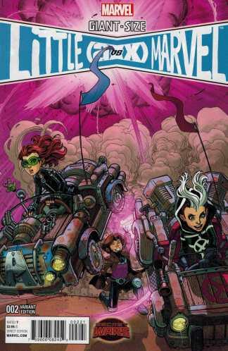 Giant Size Little Marvel AvX #2 1:25 Bradshaw Variant Marvel 2015 Avengers X-Men