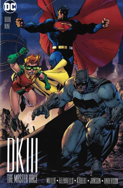 Dark Knight Master Race #9 1:500 Jim Lee Variant DC DKIII Frank Miller Batman