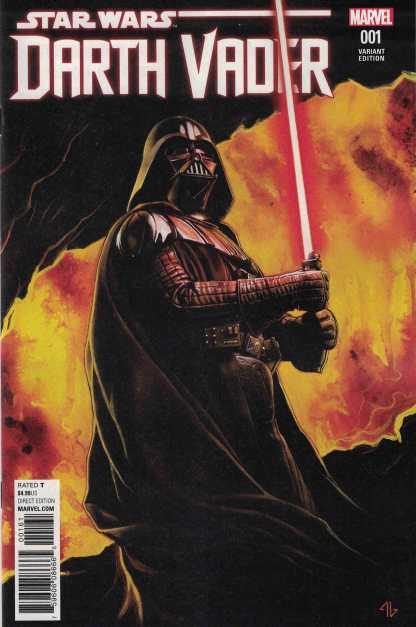 Star Wars Darth Vader #1 1:25 Adi Granov Variant Marvel 2017