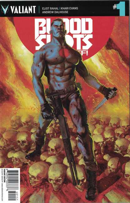 Bloodshot's Day Off #1 1:20 Renato Guedes Valiant Variant 2017