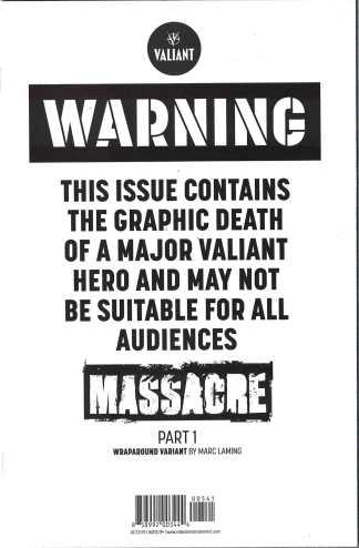 Harbinger Renegade #5 1:20 Marc Laming Variant Cover D Part 1 Valiant 2016