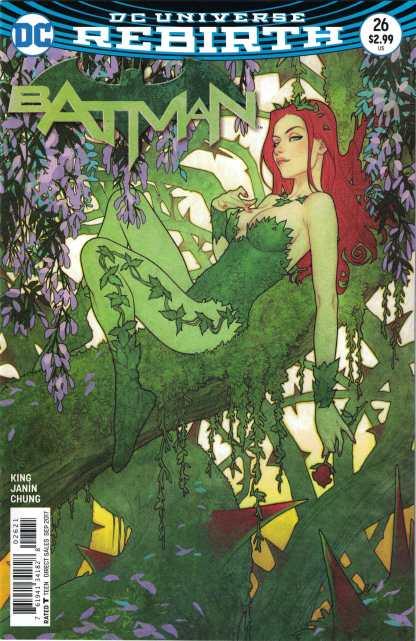 Batman #26 Joshua Middleton Cover B Poison Ivy Variant DC Universe Rebirth 2016
