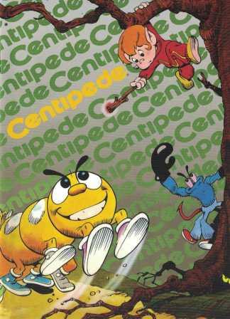 Centipede Classic Atari Mini-Comic 1:10 Dynamite 2017