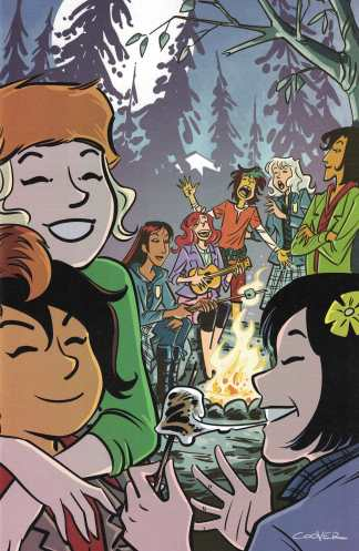 Lumberjanes Gotham Academy #2 1:15 Colleen Coover Virgin Art Variant Boom DC