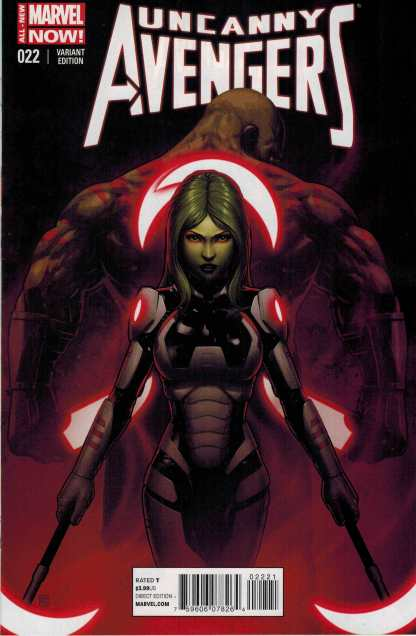 Uncanny Avengers #22 1:15 Guardians of the Galaxy Variant