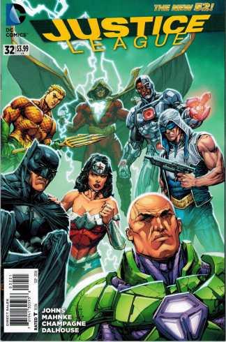 Justice League #32 1:25 Howard Porter Variant