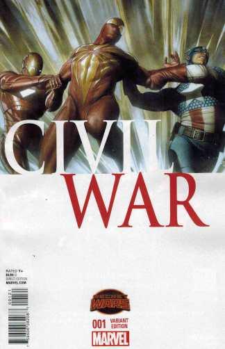Civil War #1 1:20 Adi Granov Variant Marvel Secret Wars 2015