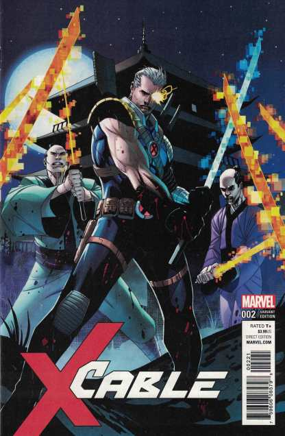 Cable #2 1:25 Jon Malin Variant Marvel 2017