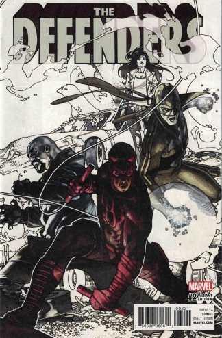 Defenders #2 1:25 Simone Bianchi Variant Marvel 2017
