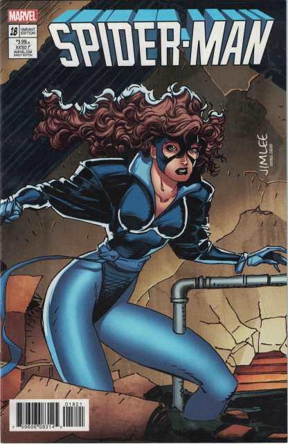 Spider-Man #18 Jim Lee X-Men Trading Card Kitty Pryde Variant Marvel