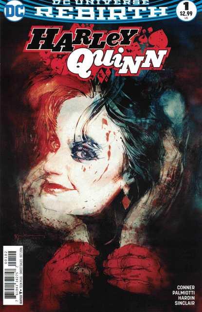 Harley Quinn #1 Bill Sienkiewicz Variant DC Rebirth 2016