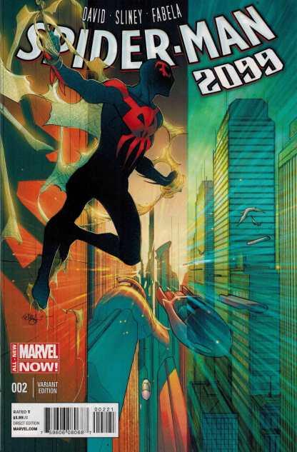 Spider-Man 2099 (2014) #2 1:25 Pasqual Ferry Variant