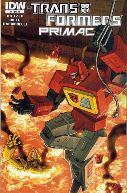 Transformers: Primac #1 Retailer Incentive Variant IDW