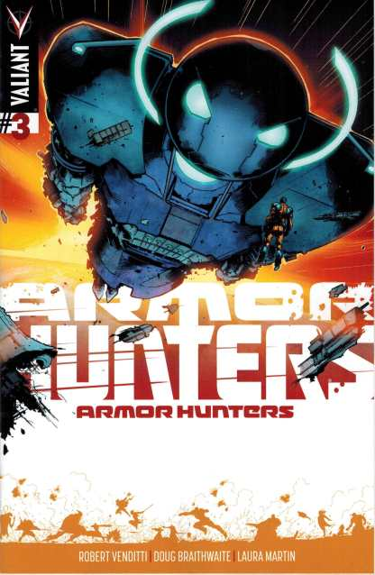 Armor Hunters #3 1:20 Trevor Hairsine Variant
