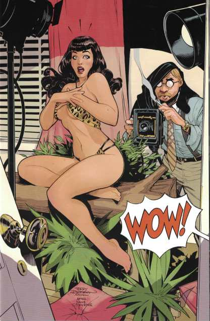 Bettie Page #1 1:30 Terry Dodson Virgin Variant Dynamite 2017