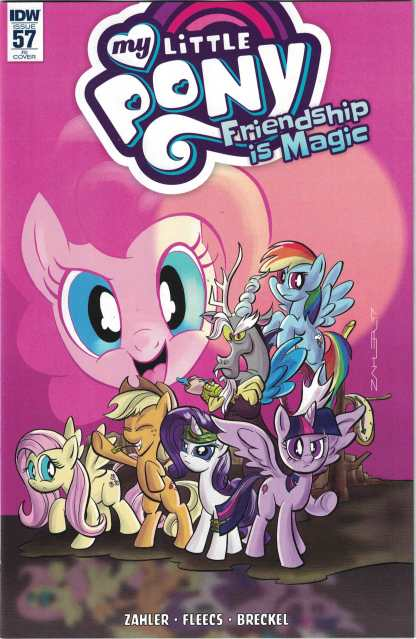 My Little Pony Friendship is Magic #57 1:10 Thom Zahler Variant IDW 2012