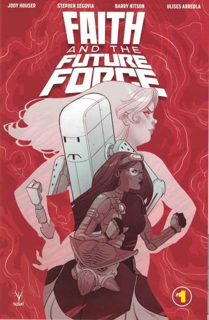 Faith and the Future Force #1 1:10 Marguerite Sauvage Valiant Variant 2017