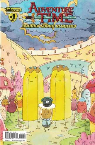 Adventure Time Banana Guard Academy #1 1:10 Cover B Variant Kaboom 2014