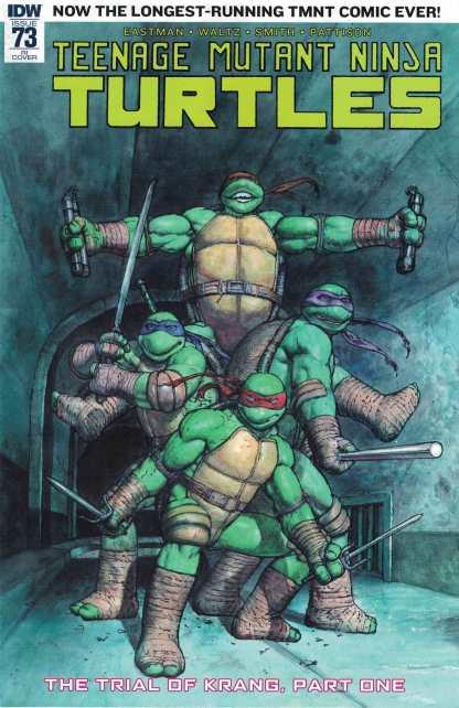 Teenage Mutant Ninja Turtles #73 1:10 Das Pastoras Variant IDW Ongoing TMNT