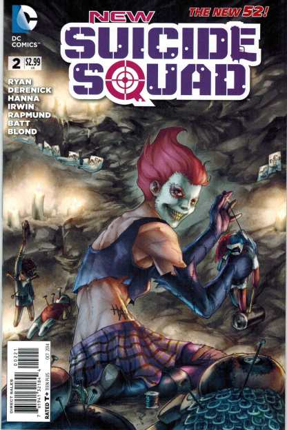 New Suicide Squad #2 1:25 Meghan Hetrick Variant