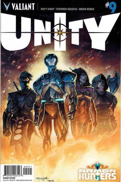 Unity #9 1:20 Steven Segovia Variant