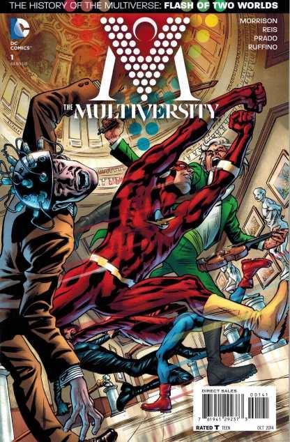 Multiversity #1 1:50 Bryan Hitch Flash Variant DC 2014 Grant Morrison