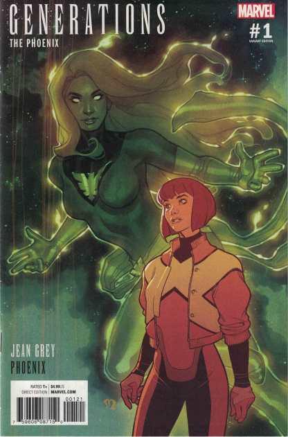 Generations Phoenix #1 1:25 Stephane Roux Variant Marvel 2017 Jean Grey