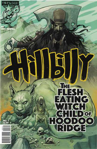 Hillbilly #3 Eric Powell Albatross Funnybooks Cover A 2016