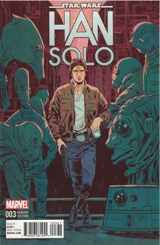 Star Wars Han Solo #3 1:25 Michael Walsh Variant Marvel 2016