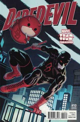 Daredevil #10 McGuinness Marvel Tsum Tsum Takeover Variant ANAD 2015